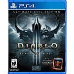Diablo III: Ultimate Evil Edition: PS4/Xbox One $25, PS3/Xbox 360  $15