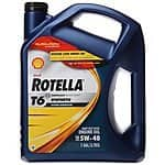 1-Gallon Shell Rotella T6 5W-40 Full Synthetic Heavy Duty Diesel Motor Oil $11.63 after $5 Rebate + Free Shipping