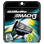 15-Count Gillette Mach3 Base Cartridges $13.25 + Free Shipping