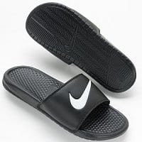Kohls Deal: Kohl's Charge Cardholders Only: 2x Men's Nike Benassi Swoosh Slide Sandals $16.79 & More + Free Shipping