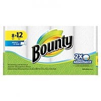 Target Deal: 24-Count Bounty Select-A-Size Giant Roll Paper Towels + $10 Target Gift Card