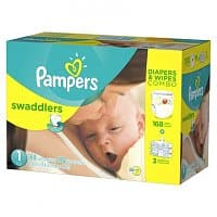 Target Deal: 2 Boxes of Pampers Diapers & Wipes Combo Pack + $25 Target Gift Card