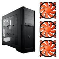 TigerDirect Deal: Corsair Carbide 300R Windowed ATX Mid Tower Case + 3x Cougar Vortex PWM Case Fans