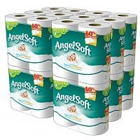 Amazon Deal: Back-to-School Buy 3 Get 1 Free: 192-Ct Angel Soft Double Rolls Toilet Paper