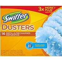 Amazon Deal: 16-Count Swiffer Disposable Cleaning Dusters Refills $6.11 or 6-Pack 42.2oz Swiffer WetJet Spray Mop Floor Cleaner Multi-Purpose Solution $13.19 & More + Free Shipping
