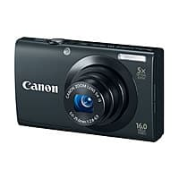 Canon Deal: Canon PowerShot A3400 IS 16MP Digital Camera (Refurb)