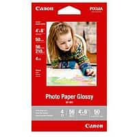 Canon Deal: 5-Pack of Canon Photo Paper Glossy 4x6 (50 Sheets)