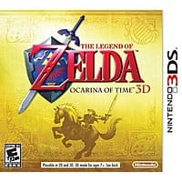Amazon Deal: The Legend of Zelda: Ocarina of Time 3D or A Link Between Worlds (Nintendo 3DS)