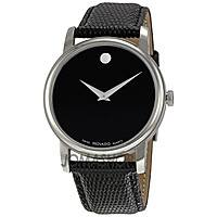 JomaShop Deal: Men's Movado Museum Watch w/ Leather Strap