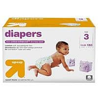Target Deal: 2x Giant Pack Up & Up Diapers + $20 Target Gift Card