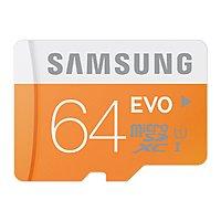 Amazon Deal: 64GB Samsung EVO Class 10 microSD Card