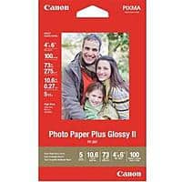 Canon Deal: 10-Pack of Canon Photo Paper Glossy II 4x6 (100 Sheets)