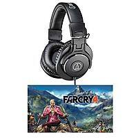 eBay Deal: Audio-Technica ATH-M30x Headphones + Far Cry 4 (PC Digital Download)