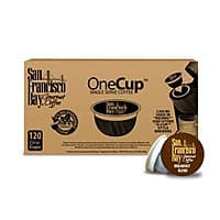 120-Ct San Francisco Bay OneCup Coffee for Keurig Brewers (Breakfast Blend) $34.19 + Free Shipping