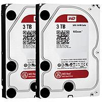 B&H Photo Video Deal: 2x 3TB Western Digital Red 3.5