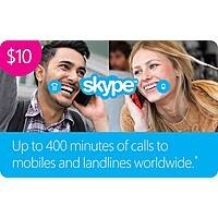 Microsoft Store Deal: 50% Off Skype Prepaid Credits: $50 for $25, $25 for $12.50