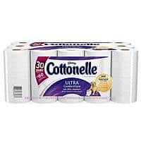 Target Deal: 60-Count Cottonelle  Double Roll Toilet Paper + $10 Target Gift Card