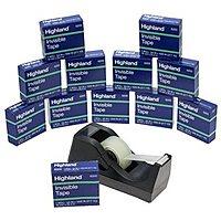 Rakuten (Buy.com) Deal: 3M Highland Desktop Tape Dispenser + 12-Rolls Invisible Tape