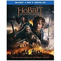 Target Deal: The Hobbit: The Battle of the Five Armies (Blu-ray/DVD/Digital HD)