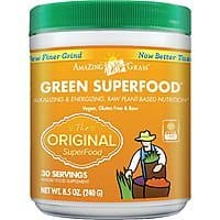 Amazon Deal: Amazing Grass: 8.5oz Green SuperFood $14, 8.5oz Wheat Grass