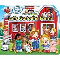 Walmart Deal: Fisher-Price Little People Let's Go to the Farm Board Book