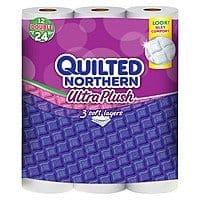 Target Deal: 48-Ct Quilted Northern Ultra Plush Double Roll Toilet Paper + $10 GC