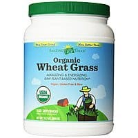Amazon Deal: 28.2oz Amazing Grass Organic Wheat Grass