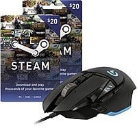 Best Buy Deal: Logitech G502 Proteus Core Gaming Mouse + $40 Steam Wallet Card