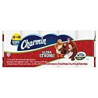 Target Deal: 90-Ct Charmin Ultra Strong or Soft Double Plus Toilet Paper Rolls