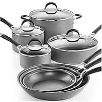 Macy's Deal: 11-Pc Circulon Momentum Cookware Set + 3-Qt Covered Saucepot