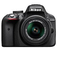 Adorama Deal: Nikon D3300 DSLR w/ 18-55mm VR II Lens (Refurbished)