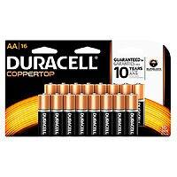 16-Pack Duracell Coppertop Batteries (AA/AAA) + $13.98 in Rewards