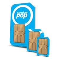 FreedomPop Global 3-In-1 SIM Kit + 1GB Bonus Data