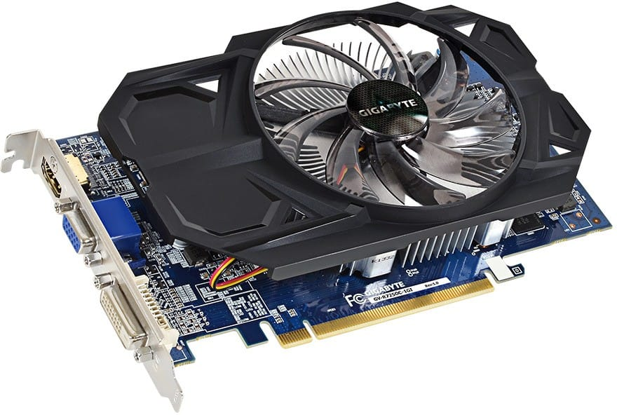 GIGABYTE Radeon R7 250 OC Video Card + AMD Game  $40 After $20 Rebate + Free Shipping