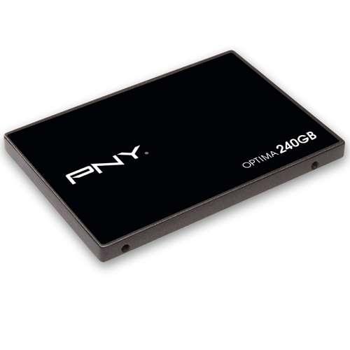 PNY Optima Series SATA III SSD: 480GB $155, 240GB  $75 after $20 Rebate & More + Free Shipping