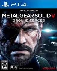 Used Games: Metal Gear Solid V: Ground Zeroes (PS4 or Xbox One)  $10 & More + Free Shipping