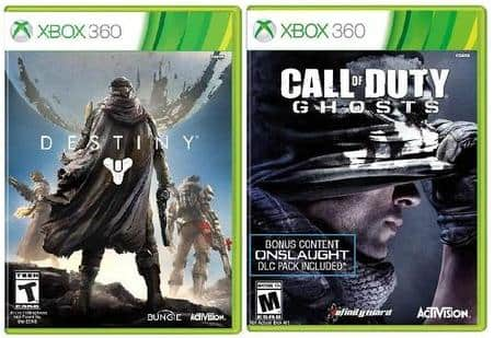 Destiny + Call of Duty Ghosts (Xbox 360 or PS3)  $50 + Free Shipping
