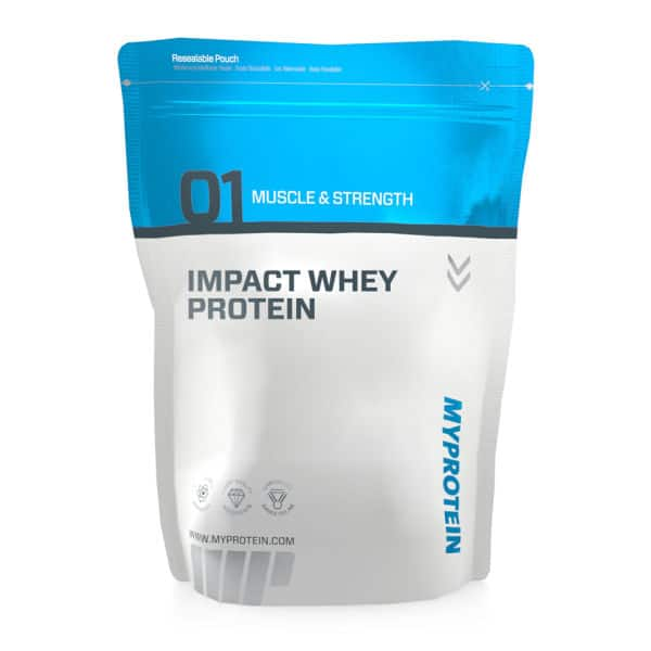 Myprotein Extra 50% off Coupon: 11lb Impact Whey Protein  $42.50 & More + $6 Flat-Rate Shipping
