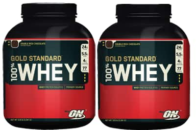10lb Optimum Nutrition 100% Gold Standard Whey Protein  $77 + Free Shipping