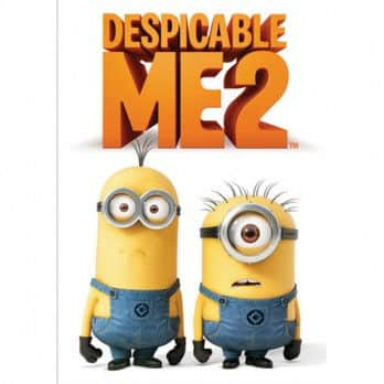 Despicable Me 2 DVD $3.48 Shipped