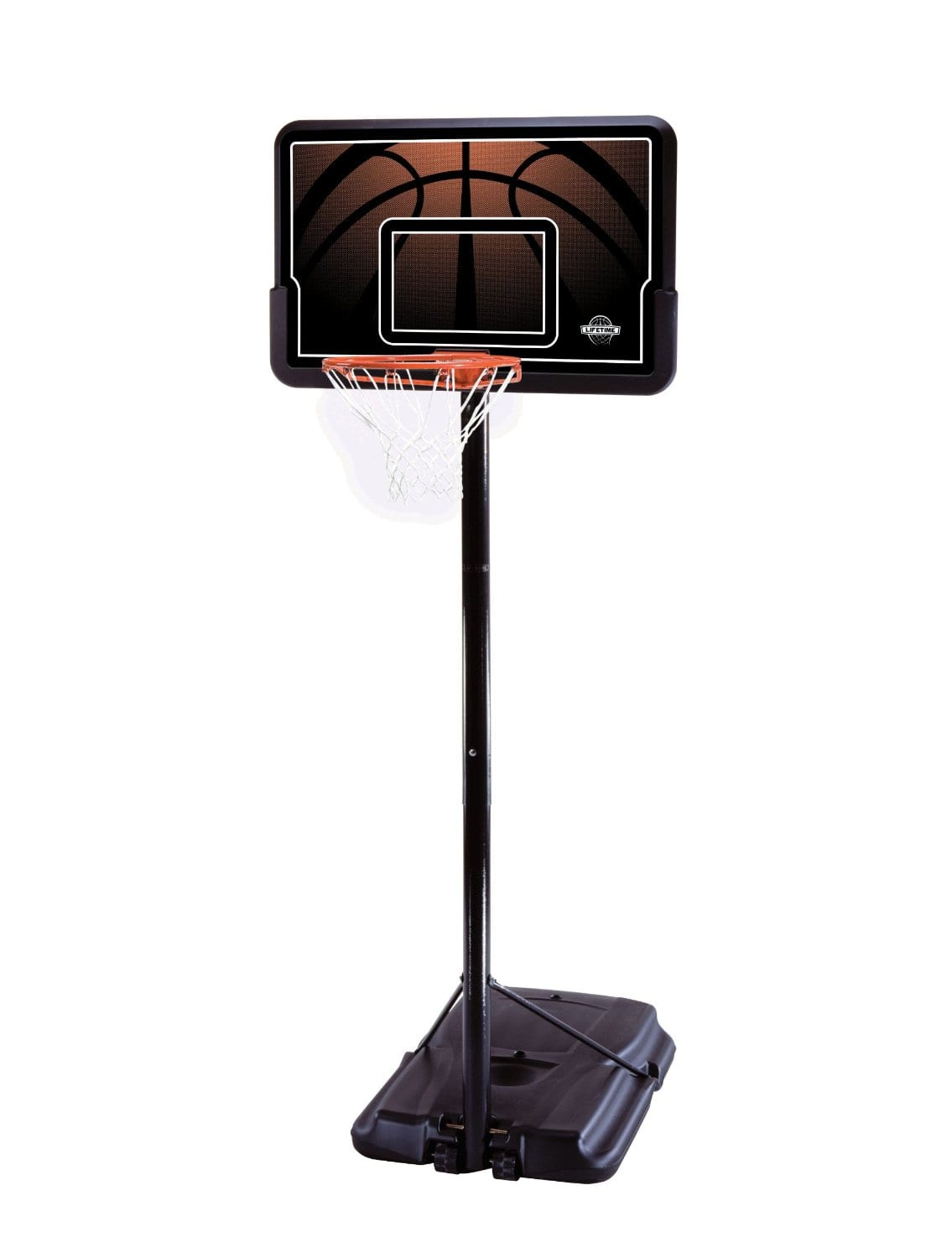 """Lifetime Height Adjustable Portable Basketball System w/ 44"""" Backboard $74.99 + Free Shipping"""