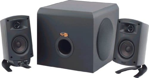 Klipsch ProMedia THX Certified 2.1 Computer Speaker System 200 watts $109.99 on sale