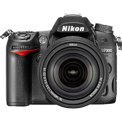 Nikon D7000 DSLR Camera w/ 18-140mm VR Lens  $630 + Free Shipping