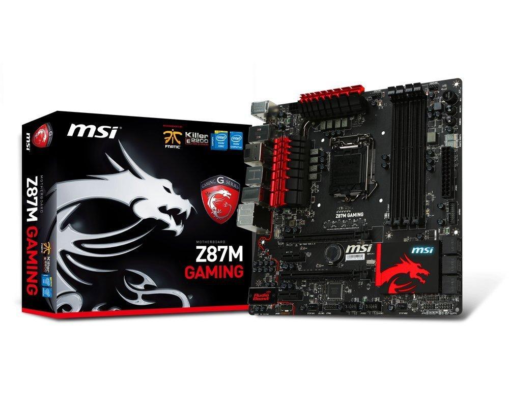 MSI Z87M Gaming LGA1150 mATX Motherboard  $70 after $30 Rebate + Free Shipping