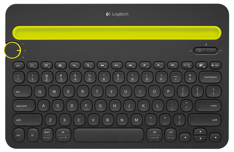 Logitech K480 Bluetooth Multi-Device Keyboard  $30 + Free Store Pickup