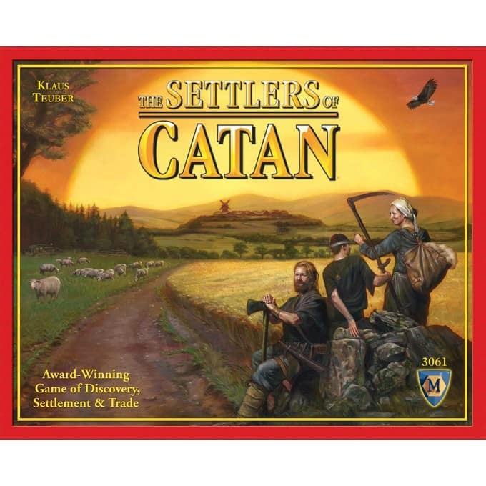 Target: $10 Off $30 on Select Board Games: Settlers of Catan  $28 & More + Free Shipping
