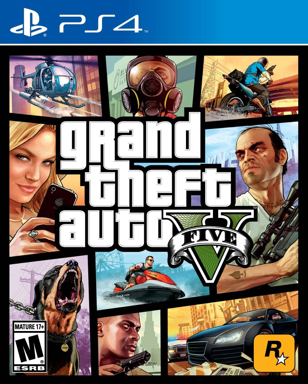 Grand Theft Auto V (PS4 or Xbox One)  $40 + Free Store Pickup