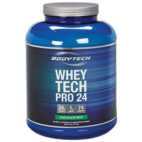 10-lb BodyTech Whey Tech Pro 24 Protein Powder (Various Flavors)  $65 + Free Shipping