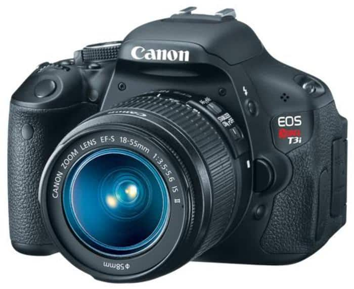 Refurbished Canon DSLR Sale: T3i w/ 18-55mm Lens  $336 & More + Free Shipping