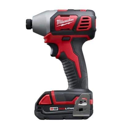 Milwaukee M18 Impact Driver with 1 battery, charger and case $89 at Home Depot
